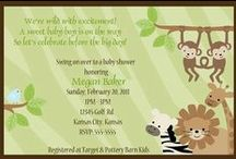 Baby shower jungle theme