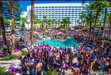 Rehab Pool Party at Hard Rock Hotel Casino Las Vegas / Everybody could use a little Rehab…but that doesn't mean what you think it does.  The infamously rowdy Rehab pool party at Hard Rock Hotel remains one of the biggest Vegas pool club experiences you could ask for. Now in its 11th season, Rehab has expanded its schedule so that it will be offered on Saturdays as well as Sundays.