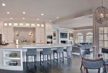 KITCHENS / Kitchen inspiration and ideas