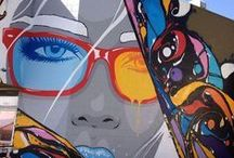 Street Art / Arte callejero, graffiti, stencil