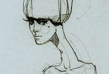 fashion/illustration - Ekaterina Koroleva / illustration, fashion illustration, watercolour, ...