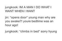 BTS Scenarios & Other Stuff / Like my EXO board but for BTS - seriously I relate to Jungkook so much in these