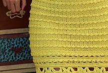 Authentic Crochet Skirts
