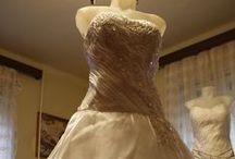 Wedding dresses - Menyasszonyi és Menyecske ruhák / Dresses of a creative and talented seamstress! Art of the Dressmaker!  Egy kreatív és tehetséges varrónő ruhái! A ruhakészítő művészete!