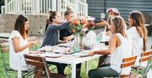 Gather / Babo Botanicals believes in regularly communing with family and friends over meals. Feel inspired by these simple and natural gathering ideas.