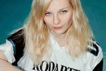 Ever since I was a child. / #kirstendunst #blonde #blondehair