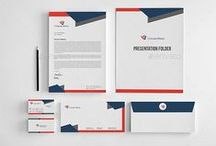 Corporate Stationery / Corporate Stationery Pack Can be used for different types of business. Includes a modern adaptable Logo design, and a full Identity package. Just add your own business name, slogan and text and you can be ready to go to print with this professionally designed suite of materials.