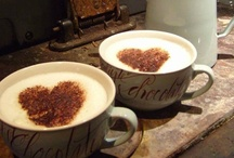 Hmmmm... COFFEE, CAPPUCCINO, CHOCOLATE and TEA!! ♥ / by Lígia Bellini