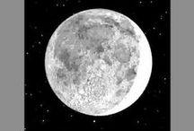 Księżyc, Moon / Księżyc symbolicznie. Księżyc w astrologii i horoskopie. Księżyc baśniowo, śmiesznie i strasznie. www.proastro.pl