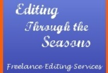 Editing Through the Seasons / About a freelance editing & publicity business and its clients