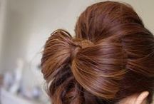 hairstyles and make-up