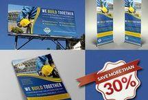 Advertising Bundle / Tire Services Advertising Bundle including Flyer design, Billboard design, Roll-Up Signage Banner design and Poster design and more.....