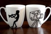 cups / hand painted cup find out more at https://www.facebook.com/DimitraAnastassiadiHandmadecreations