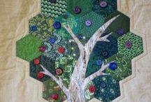 hexagone quilt / by Anne Massart