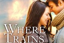 Where Trains Collide | Novella / Two hearts racing in different directions will meet where trains collide. | New adult contemporary romance novella, now available for Kindle!