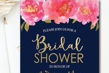 BRIDAL SHOWER INVITATIONS / Bridal Shower Themed Invitations | Couples Showers