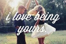 LOVE QUOTES / Quotes about love, relationships & marriage