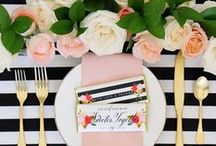PARTY INSPIRATIONS / Party Ideas, DIY party decor, games, food & drinks.
