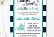 BABY SHOWER INVITATIONS / Baby Girl | Baby Boy | Baby Shower Printable invitations