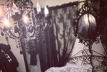 Lovely house interior / Obviously mostly neo \ goth \ dark victorian :P