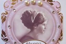 Vintage Style Cards / hand crafted cards