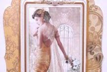 Art Deco style wedding cards / crafts and cards