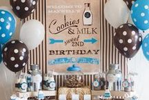 BOYS BIRTHDAY PARTY / Boys Birthday Party Themes, Decor, Cakes & More