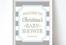 BOY BABY SHOWER / Boys Baby Shower Themes & Party Decor Ideas