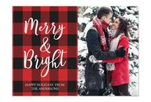 HOLIDAY PHOTO CARDS / Send your holiday wishes in style with these Christmas photo card.