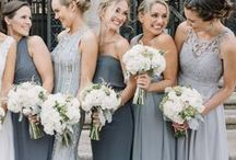 MODERN GRAY & WHITE WEDDING / A simple and elegant gray and white wedding