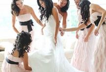 BLUSH PINK & BLACK WEDDING / A simple and chic blush pink & black wedding