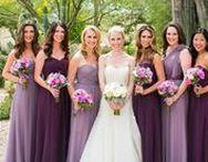 Purple Floral Wedding