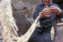 Spinning yarns / Прядение нити / The equipment for spinning , wool processing / Оборудование для прядения, обработка шерсти
