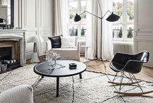 Monochrome Interiors / Black and white interiors