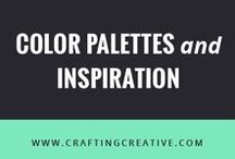 Color Palettes + Inspiration / Color palette inspiration for bloggers and creative entrepreneurs for your brand design and website.