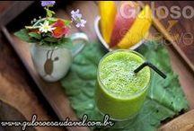 Bebidas / http://www.gulosoesaudavel.com.br/category/receitas-saudaveis/bebidas/