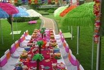 Party ideas / Celebrate in style and color with a touch of fun / by Amy