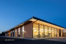 Sustainable Timber Classrooms / A selection of images from Cabinco showing past construction projects for schools and educational settings.