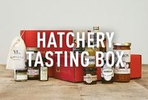 Hatchery Tasting Box / Hatchery delivers small-batch artisan ingredients and condiments to your doorstep every month. More at http://hatchery.co/