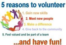 Volunteering is a work of heart