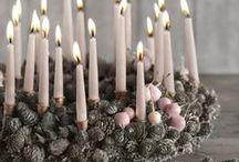 věnečky,svícny
