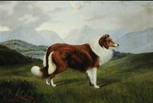 COLLIE ART & ANTIQUES