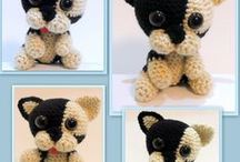 Amigurumi French Bulldog / French Bulldog