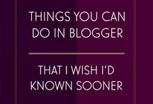 Blogger Hints, Tips and Codes / How to instructions, useful information, tips and resources for Blogger and Blogging. XML, HTML and coding as well as useful tools.