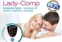 Lady-Comp POLSKA / Photos of the devices: Lady-Comp, Baby-Comp, Pearly, Lady-Comp Basic, Lady-Comp Baby, Daysy, www.ladycomp.pl Tablica zawiera materiały graficzne, reklamy internetowe oraz magazynowe firmy Lady Comp Polska.