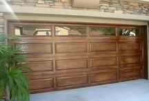 Garage door ideas that boost a homes curb appeal. www.rooftime.com / Garage inspirations. The garage doors of a home can be extremely important in a homes curb appeal.