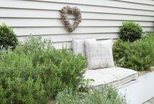 Ideas for a small garden / Landscaping, paving, seating and plant ideas for a small garden.