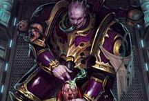 Slaanesh / Immagini relative al Principe Oscuro, signore dei vizi e degli eccessi, di Warhammer
