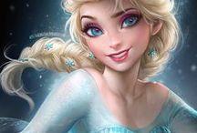 Frozen & Rapunzel