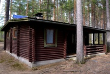 Haukiranta vuokramökki / Haukiranta on perinteinen, hirsinen vuokramökki pienen erämaajärven rannalla Leivonmäen kansallispuiston eteläpuolella. Kaasuvarustus ja sähkövalot aurinkopaneelilla.